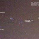 Astrofoto - M42, Rigel, Betelgeuse, Orion e Meteoro ,                                Gustavo Sigal