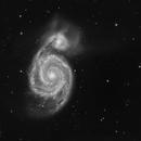 M51 The Whirlpool Galaxy,                                Michael Feigenbaum