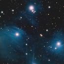 M45-Pleiades,                                Baz Beswick