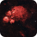 NGC6334 - Cat's Paw Nebula,                                Cluster One Observatory