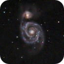Messier 51 [The Whirlpool galaxy] [100% crop],                                astronut1982