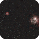 M8 & M20 Widefield,                                Andrew Riley