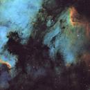 Pelican Nebula and the Wall,                                julianr