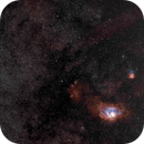M8 & M21   imaged with a Canon 300mm EF lens,                                Peter Myers