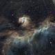 RCW 2  Seagull Nebula,                                Edward Overstreet