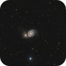 M51 LRGB,                                Erik Guneriussen