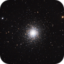 M13 - Great Globular Cluster in Hercules - first light with Hyperstar,                                Dale Hollenbaugh