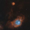 M8 & M20 - Lagoon and Trifid Nebula,                                Daniel and Iana Egan