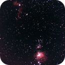 Orion's Belt & Sword on Film, 300mm,                                AlenK
