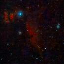 Poor Man's Flame and Horsehead Nebulas - 20200211 - StarTravel 80 - UHC,                                altazastro
