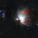 M42 - Great Orion Nebula + Running Man,                                Maximilian Hermanovski
