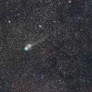 Comet C/2014 Q2 (Lovejoy) Connect with star delta Cassiopeia,                                Sergej Kopysov
