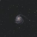 M 101- Pinwheel Galaxy,                                Terrance