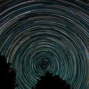 Circumpolar star trails,                                Thomas Schutz