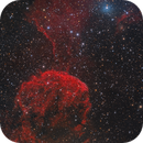 IC 443 The Jellyfish Nebula and light of Propus,                                Alberto Pisabarro