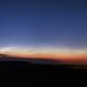 Noctilucent clouds (panorama),                                Petr Hykš
