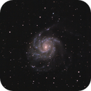 Messier 101 - The Pinwheel Galaxy in Ursa Major,                                G400