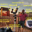 Namibian setup, 2019,                                Luigi Fontana