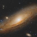 Andromeda Galaxy,                                Damien Cannane