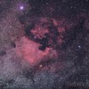 North America and Pelican Nebula,                                Rodrigo Andolfato