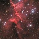 The Heart of the Heart Nebula,                                Ruben Barbosa