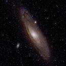 M31 in HaORGB,                                FrostByte