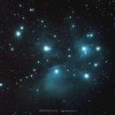 Les Pléiades, Amas M45,                                Stephane Jung