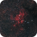 Lobster & Cat's Paw Nebulas,                                BQ_Octantis