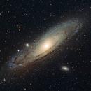 M31 The Andromeda Galaxy,                                 degrbi