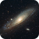 M31 The Andromeda Galaxy,                                 degrbi
