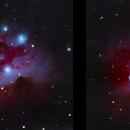 Running Man Nebula in 3D,                                Rick Veregin