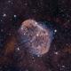 NGC6888 Crop HOO,                                Philippe Oros