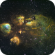 NGC 6334 - Cat's Paw Nebula,                                Bruce Rohrlach