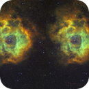 NGC-2244 Hubble  3D-Version,                                Gerhard Henning