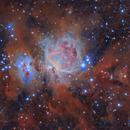 The Great Orion Nebula, M42,                                rebula_astrophoto