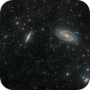 Bode's Nebulae (Messier 81 & 82 & NGC 3077),                                Miles Zhou