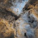 Eta Carina Nebula First light APM LZOS 130 F6,                                robonrome