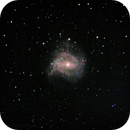 Teste na Galáxia Cata vento do Sul, frames de 4 segundos.,                                Denis Valentim Rodrigues