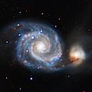 M51 with Hyperstar - 1 hour integration,                                Alex Pinkin