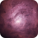 M8 - Lagoon Nebula (HOO RGB star data),                                Janco