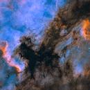 NGC 7000 in BiColour,                                Kasra Karimi