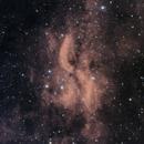 DWB 111 Propeller Nebula In Cygnus Ha_R_R+B_B,                                Alex Iezkhoff