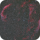 The Veil Nebula - My first mosaic,                                Don Walters