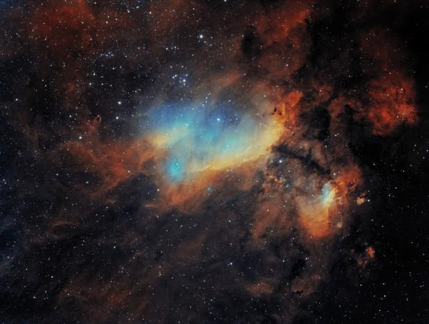 IC4628 - Prawn Nebula,                                Yann-Eric BOYEAU