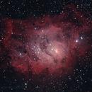 M8 The Lagoon Nebula,                                Serge Caballero
