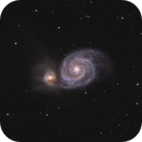 M51 From Big Woods [CROP],                                mikefulb