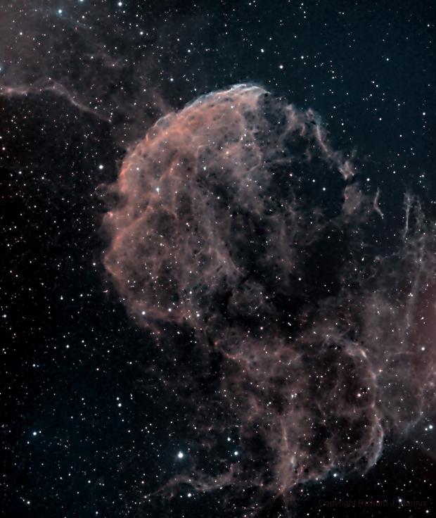 IC443 Jellyfish Nebula,                                Rich