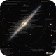 The Needle Galaxy Annotated,                                sunlover