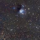 NGC_7129 through smokey skies,                                Seymore Stars