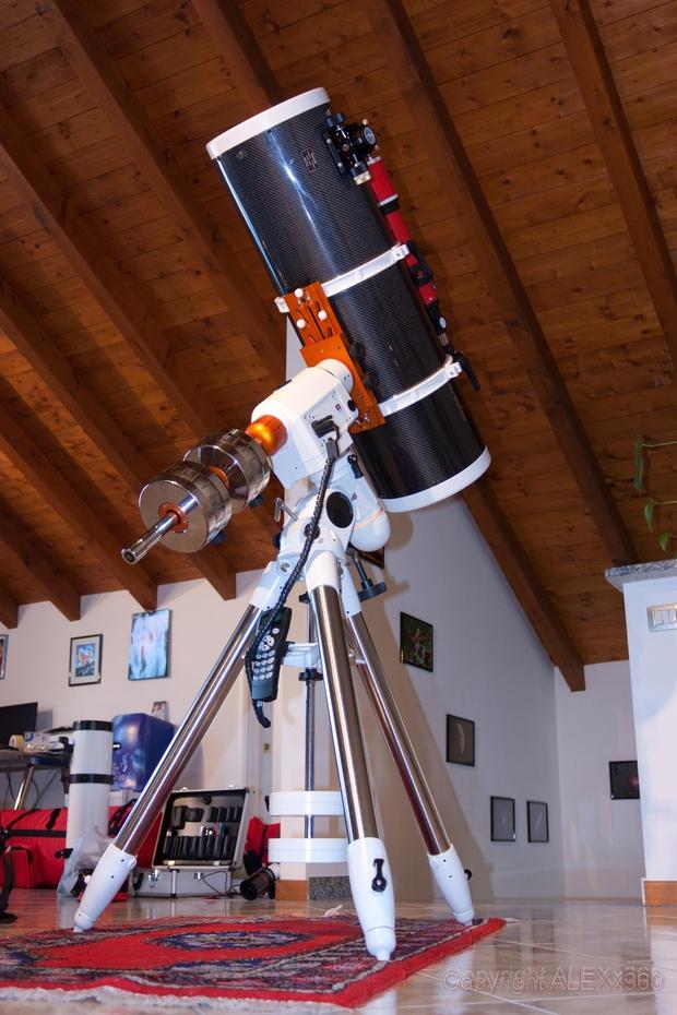 Astrograph 250 f/4 Carbon Fiber,                                Alessandro Merga...